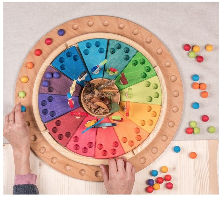 Calendario anual Waldorf - Montessori