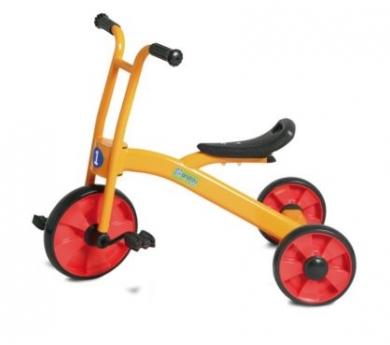 Tricicle metàlic per a patis escolars