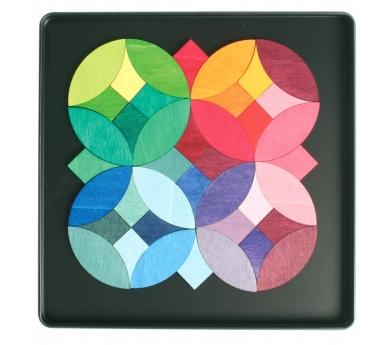 Puzzle Magnético de Círculos