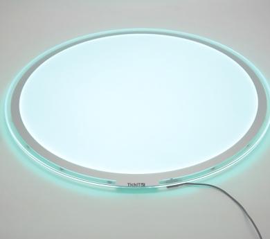 Mesa de luz LEDS 20 colores Ø 70 cm.