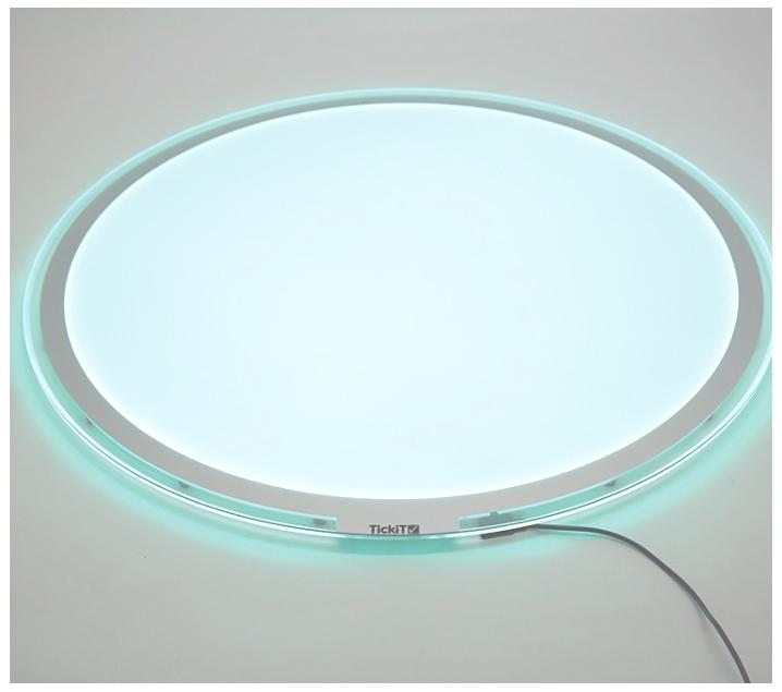 Taula de llum LEDS 20 colors rodona