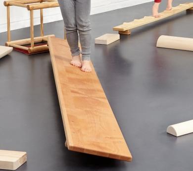 Hengstenberg. Rampa i plataforma d'equilibri i balanceig