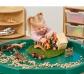 Plateau en tuf pour mini-mondes et activités sensorielles