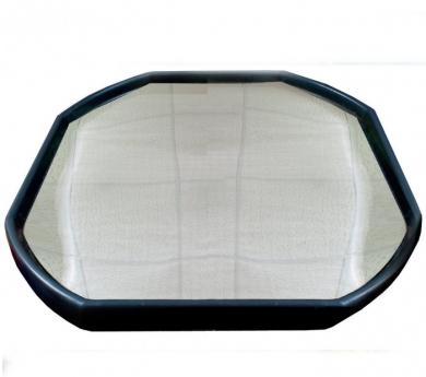 Tuff tray amb làmina reflectant per a mini-mons i activitats sensorials