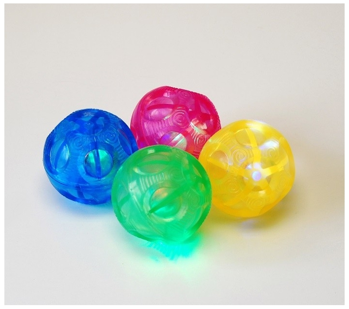 4 Bolas de luz irregulares