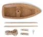 Kit per construir una barqueta de suro