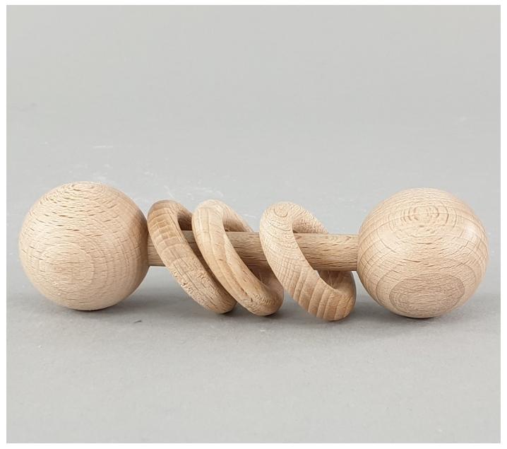 Sonall amb anelles grans Montessori