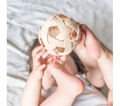 Bola natural per nadó