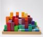 Gran piràmide de blocs de fusta