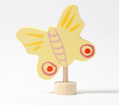 Grimm's. Figura celebraciones mariposa amarilla