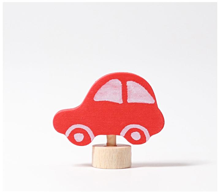 Grimm's. Figura celebraciones coche rojo