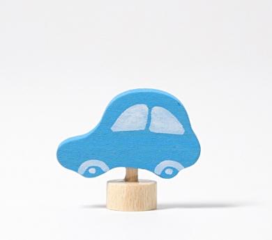 Grimm's. Figura celebraciones coche azul
