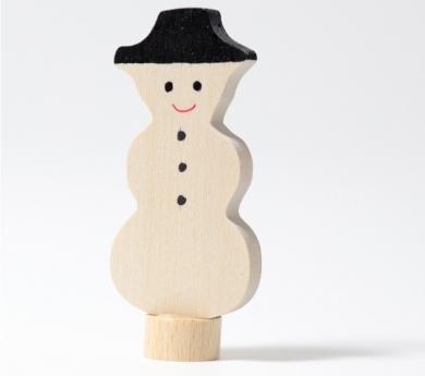 Grimm's. Figura celebraciones muñeco de nieve