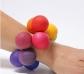 Polsera de boles de colors