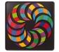Mandala Magnètic Espiral
