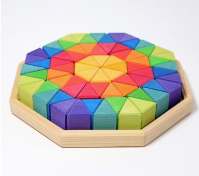 Puzzle Octágono Grande de Madera