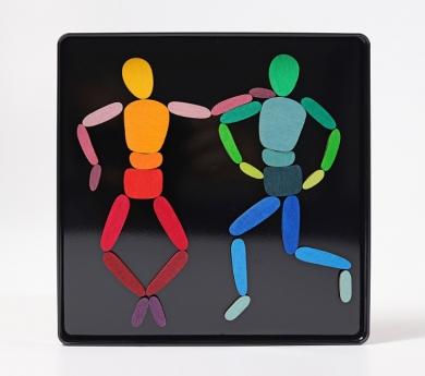 Puzzle Magnético Figura Humana