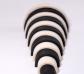 Arco iris Waldorf grande blanco y negro