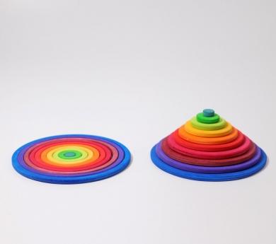 Cercles concèntrics amb anelles