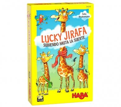 Lucky jirafa, juego de composición