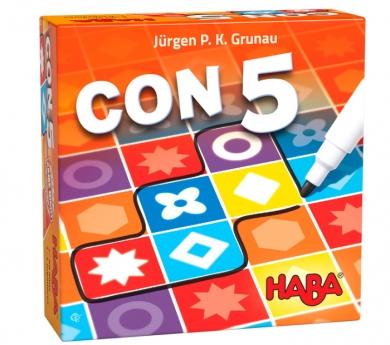 CON5. Juego de pentaminos