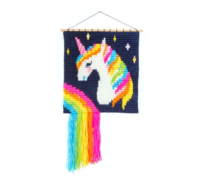 Kit tapiz de pared UNICORNIO