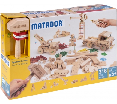 Juego de Construccion Matador Explorer E318