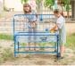 Mesa de experimentación para arena y agua de 40 cm. altura y con soporte de reja