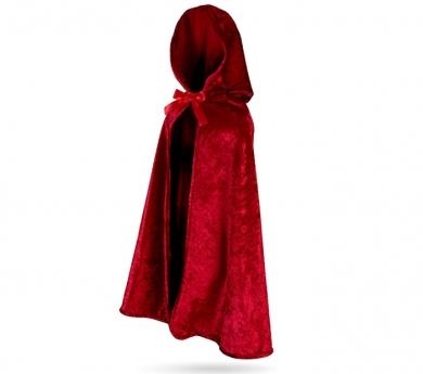 Capa de bellut Caputxeta vermella