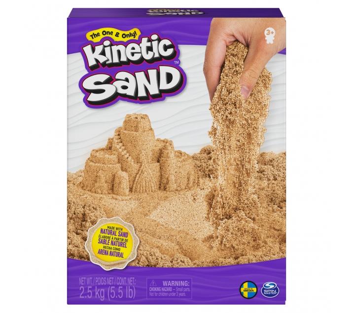 Sorra màgica kinetic sand 2,5 kg.