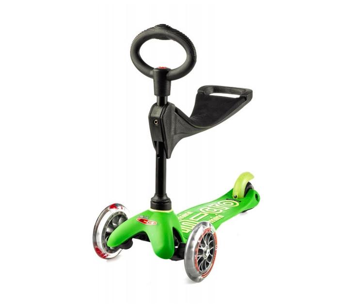 Mini micro 3 ruedas 3 en 1 DELUXE