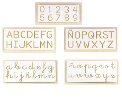 Kit de grafomotricidad 5 tablillas