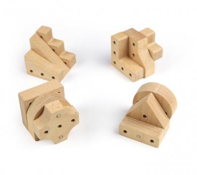 Piezas para construcción volumétrica