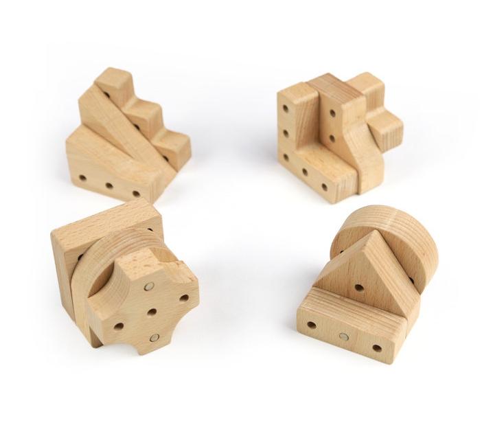 Peces per fer construccions volumètriques