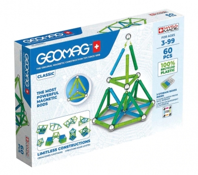 Geomag clàssic Green 60 peces