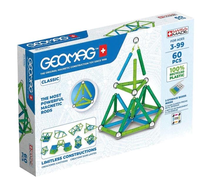 Geomag Green 60 piezas