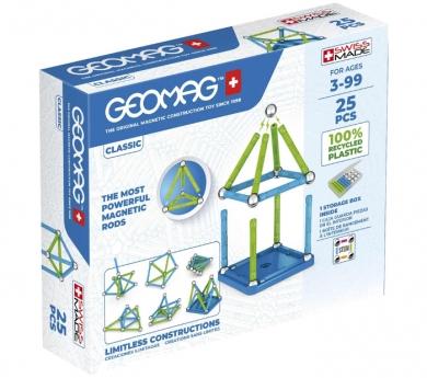 Geomag clásico Green 25 piezas