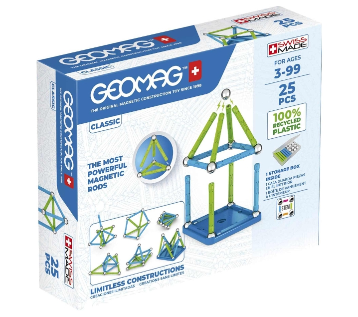 Geomag Green 25 peces
