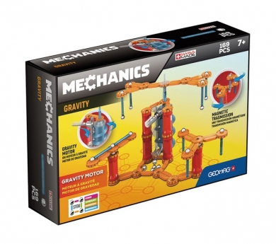 Geomag MECHANICS GRAVITY Motor System - 169 pcs