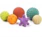 Conjunto de 6 pelotas sensoriales de caucho