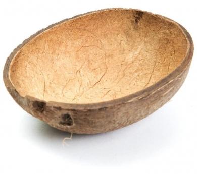 Mitja closca de coco