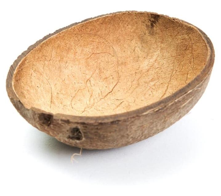 Media cáscara de coco