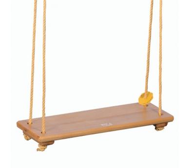 Columpio de madera con asiento XL