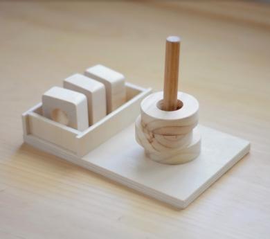 Clavija eviolutiva Montessori 3 en 1