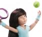 Muñeca Kruseling Luna jugadora de tenis
