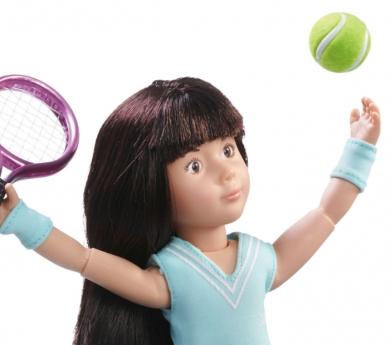 Nina Kruseling Luna jugadora de tenis