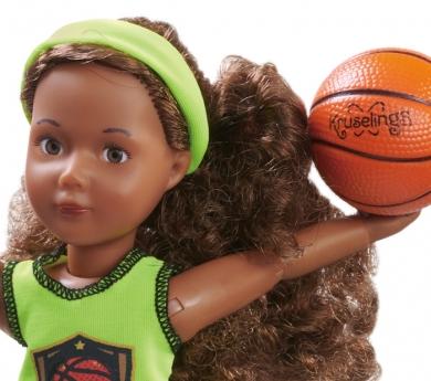 Muñeca Kruseling Joy jugadora de básquet