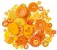 100 g. de botones naranjas