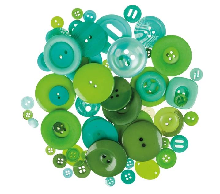 100 g. de botones verdes