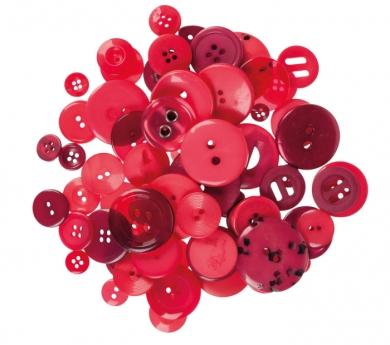 100 g. de botons vermells